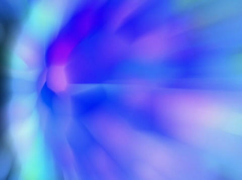 VJ Loop 406 3D Balls Blue Zoom 27s Stock Video Footage