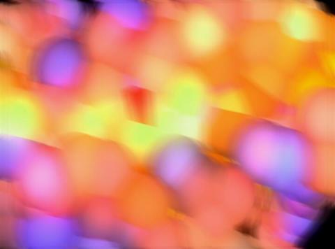VJ Loop 412 3D Balls Pink Beat 30s Stock Video Footage