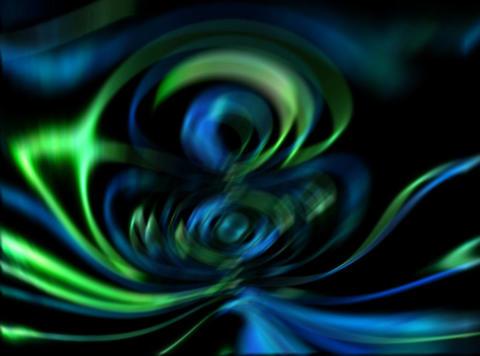 VJ Loop 431 Psychedelic Warp 5 15s Stock Video Footage