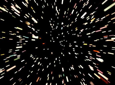 VJ Loop 436 Space Warp 1 25s Stock Video Footage