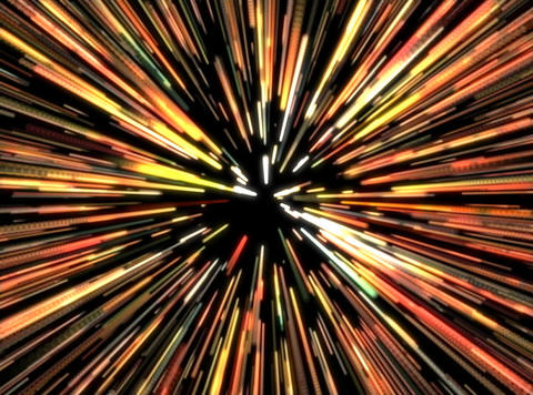 VJ Loop 436 Space Warp 1 25s Animation