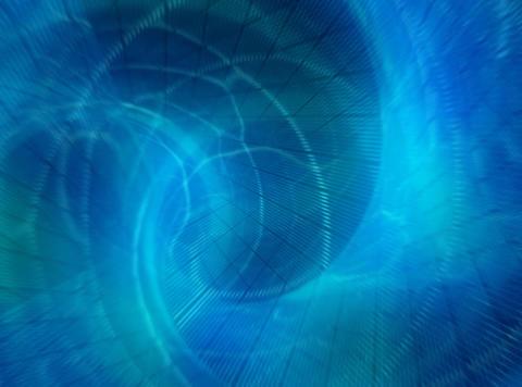 VJ Loop 441 Organic Spin 3 24s Stock Video Footage
