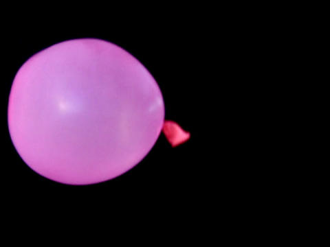 Balloon Bounce Pink 01 Loop 35pe Stock Video Footage