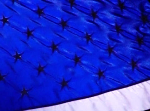 American Flag 010 Loop Stock Video Footage