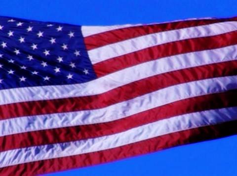 American Flag 04 Loop Footage