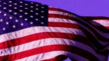 American Flag Sunset 03 Loop stock footage