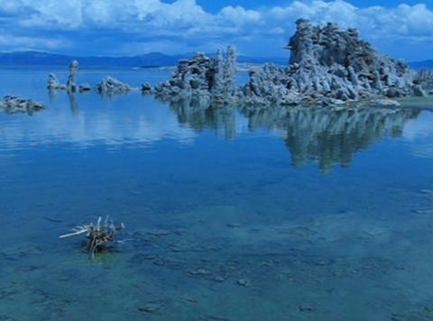 Mono Lake HS 1 Loop Stock Video Footage