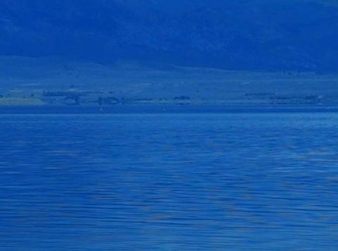 Mono Lake HS 3 Loop Stock Video Footage