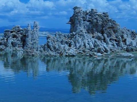 Mono Lake HS 7 Loop Stock Video Footage