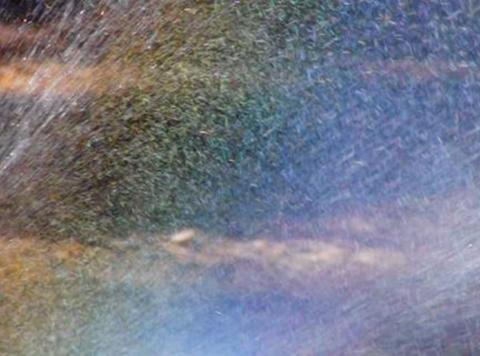 Sprinkler Rainbow 02 Loop Stock Video Footage
