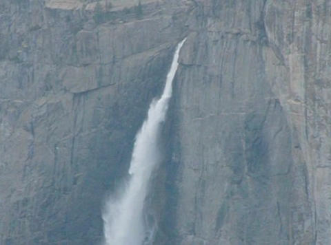 Yosemite Falls 1 Loop Footage