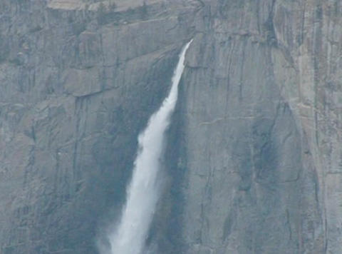 Yosemite Falls 1 Loop Stock Video Footage