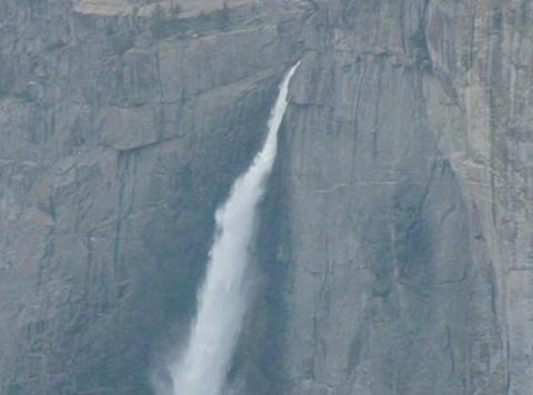 Yosemite Falls 1 Loop Stock Video Footage