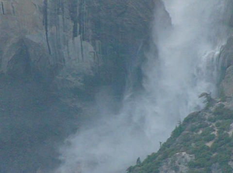 Yosemite Falls 3 Loop Stock Video Footage
