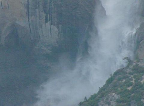 Yosemite Falls 3 Loop Stock Video Footage