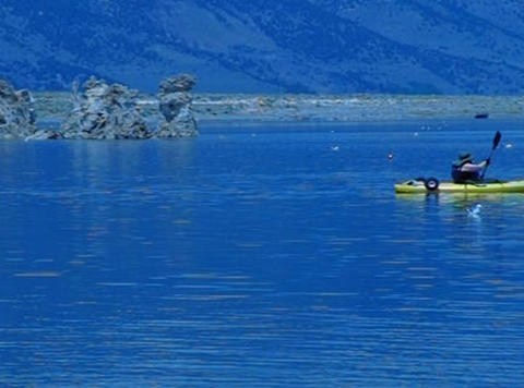 Mono Lake HS 8 Loop Stock Video Footage