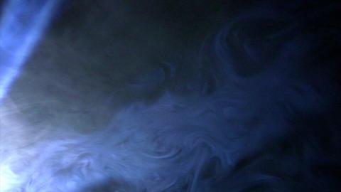 Smoky spot light effects Stock Video Footage