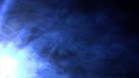 Smoky spot light effects Stock Video Footage
