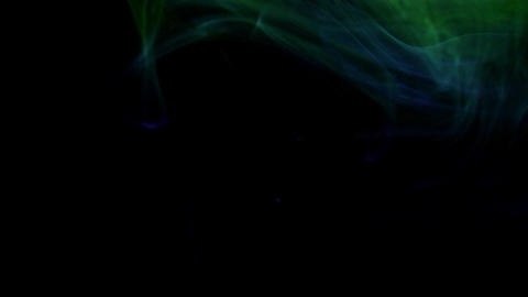 Multiple colour fumes Stock Video Footage