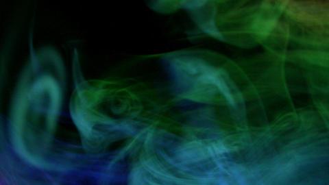 Smoke Aurora 08 Loop Stock Video Footage