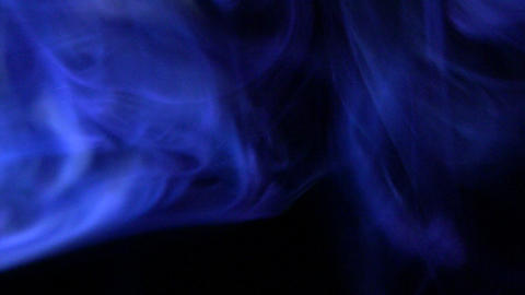 Colourful smoke with lighting effects Footage