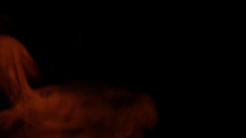 Looping orange effects Stock Video Footage