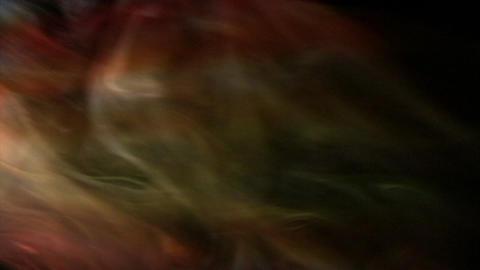 Smoke Orange Yellow 03 Loop Stock Video Footage