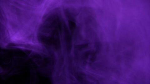 Smoke Purple 02 Loop Stock Video Footage