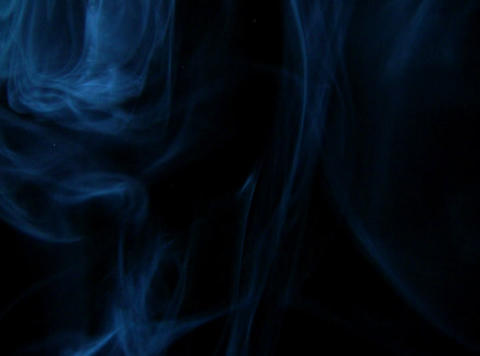 Blue Smoke 4 Stock Video Footage