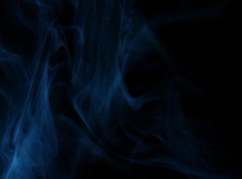 Blue Smoke 4 Stock Video Footage