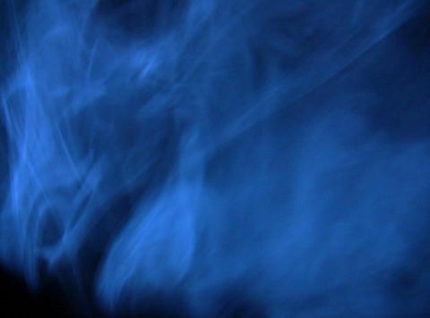 Blue Smoke 6 Stock Video Footage