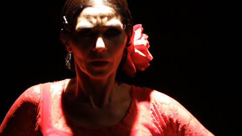 Dance dancer dancing Flamenco spain Footage