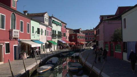 burano 02 Stock Video Footage