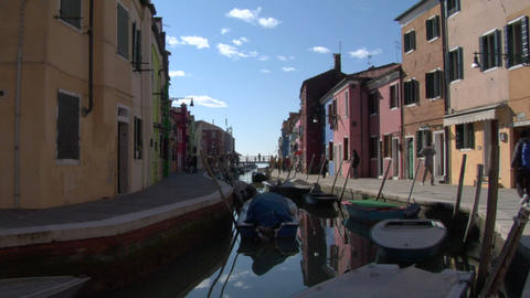burano 04 Stock Video Footage