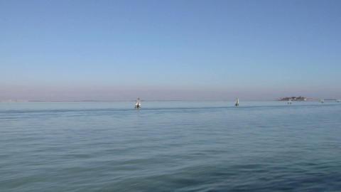 venetian lagoon 01 Stock Video Footage