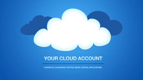 Your Cloud Account Stock Video Footage