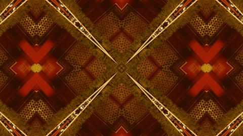 Beautiful Asia Chinese Oriental traditional pattern.four... Stock Video Footage