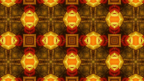 Beautiful Asia Chinese Oriental traditional pattern.four consecutive fractal kal Animation