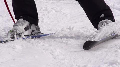 Ski Trail HD Stock Video Footage