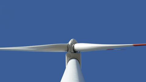 wind turbine med up loopable 10872 Stock Video Footage