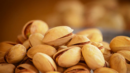 Pistachios Nuts Rotating Loop stock footage
