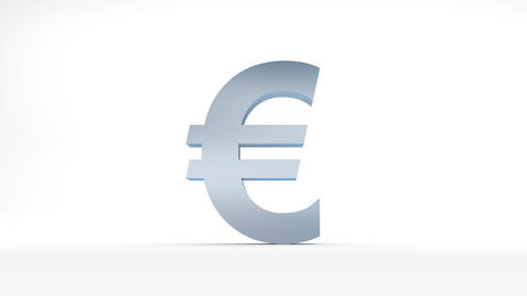 The Fall of the euro Stock Video Footage