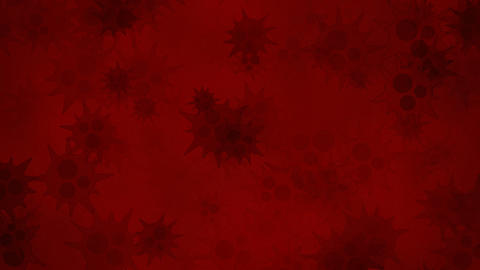 Red Bacteria stock footage