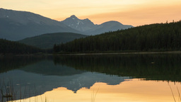 Lake reflection Stock Video Footage