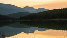 Lake reflection Footage