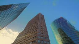 Potsdamer Platz skyscrapers Footage