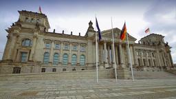 Reichstag building in Berlin Footage
