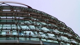 Detail Of The Reichstag Building In Berlin stock footage