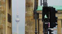 Detail of Berlin atmosphere Stock Video Footage