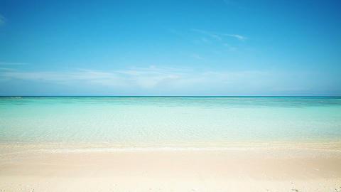Nishihama beach in Hateruma-jima, Okinawa Footage